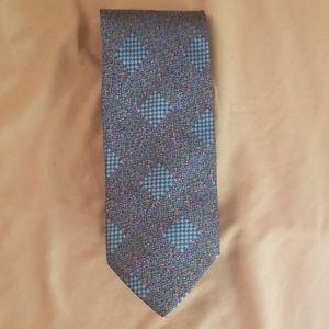Missoni mens silk tie - blue
